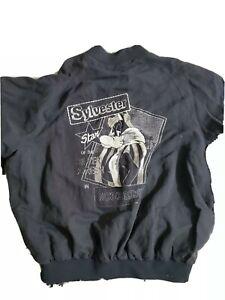 Iceberg Men's Sylvester Jacket Linen/Silk/Viscosa. 1993 Warner Brothers.Italy XL