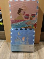 Disney Princess Active Foam Flooring. Includes 2 unopened packages 18 sqft total
