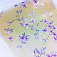 Tapete selbstklebend Blumenranken Seideneffekt lila Glitter 50 x100 cm ablösbar