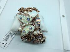 $145 Betsey Johnson Butterfly statement bracelet #5