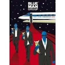 """BLUE MAN GROUP """"HOW TO BE A MEGASTAR LIVE"""" DVD+CD NEW+"""