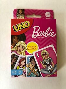 UNO Barbie Card Game New
