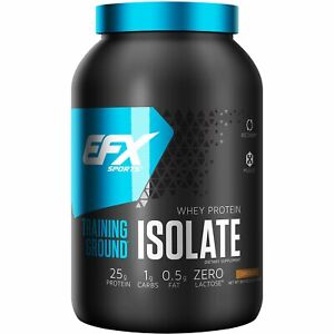 EFX Sports Training Ground Whey Protein ISOLATE 36 Servings Like Dymatize ISO100
