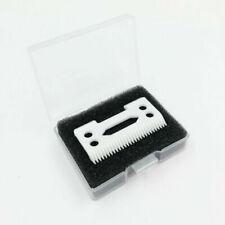 2Pcs Clipper Ceramic Cutter Blade Magic Clip 2 Holes For Wahl Shear Clipper