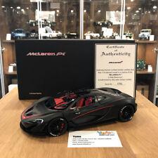 AUTOart 1/18 McLAREN P1 (MATT BLACK) DIECAST CAR MODEL 76027