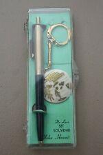Vintage De Luxe Souvenir Set Pen Keychain Aloha From Hawaii