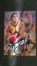 DREW BANFIELD SIGNED SELECT Y2K 2000 CARD