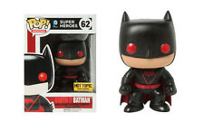 Exclusivo DC COMICS Earth 2 Batman 9.5cm Figura de Vinilo Pop Heroes Funko