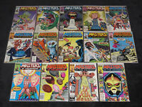 MASTERS OF THE UNIVERSE 1 2 3 4 5 6 7 8 9 10 11 12 13 HE-MAN COMPLETE SERIES LOT