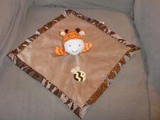 Circo GIRAFFE Security Blanket Bumble Bee Target Velour Satin Brown Orange Baby
