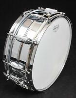 "Ludwig LM400 Supraphonic Aluminum 5""x14"" Snare Drum, Excellent Used Condition"