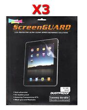 spc-ipad x 3 : 3pcs Doble Capa Protector de pantalla para Apple iPad 1 2