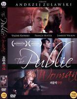 The Public Woman (1984, Andrzej Zulawski) DVD NEW