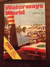APR 1978 WATERWAYS WORLD MAGAZINE