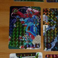 ROCKMAN X3 MEGAMAN CARD PRISM HOLO CARTE NO.89 MADE IN JAPAN 1995 CAPCOM NM