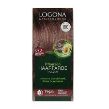 (7,95 EUR/100 g) Logona Pflanzenhaarfarbe Henna Pulver 070 Kastanienbraun 100 g