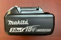 Makita BL1830B 18V LXT Lithium-Ion 3.0Ah Battery with LED Indicator
