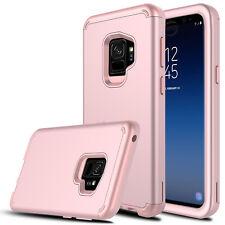 For Samsung Galaxy S9 Plus/S8/S10+/S10e Hybrid Hard Armor Full Cover Phone Case