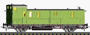 Piko H0 53145: Packwagen  PwSa 10  DRG - Epoche II