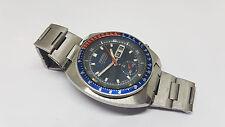 Sehr seltene Vintage all Original Seiko Pepsi Blau Zifferblatt DayDate Auto Mann's watch