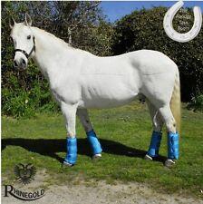 Rhinegold Elite Half Travel Boots – PONY – TURQUOISE – Show Season – FREE P&P