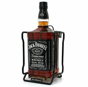 Jack Daniels mit Metallschaukel  Whisky Highlight 3L 40% Vol. alc.