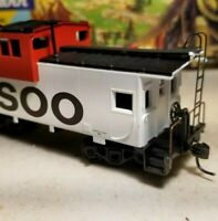 HO Athearn SOO line custom caboose rtr for train set nos