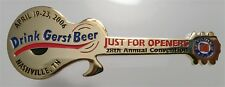 2006 Just For Openers Convention Opener Nashville TN Gerst Beer Guitar X-17