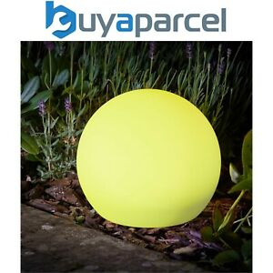 Smart Garden Solar Lunieres Orb Lantern LED Light White Colour Changing XL