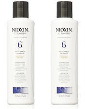 2- NIOXIN Shampoo Cleanser System 6 Medium To Coarse Hair TRAVEL SIZE 1.7oz Each