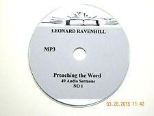 Leonard Ravenhill, No. 1, 49 AUDIO SERMONS ON 1 CD, MP3