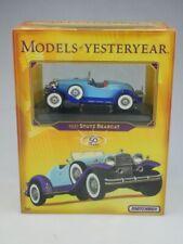 K1879 1931 Stutz Bearcat - 47775 Matchbox Collectibles Yesteryear Dinky