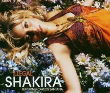 Shakira Illegal (2006; 2 versions, feat. Carlos Santana) [Maxi-CD]