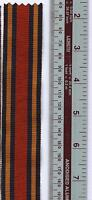 """6"""" of ORIGINAL FULL SIZE Medal Ribbon for the WWII Burma Star"""