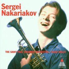 Baroque Trumpet Concertos by Sergei Nakariakov (CD) WORLDWIDE SHIP AVAIL!
