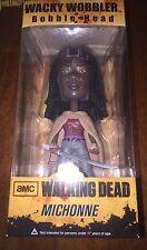 The Walking Dead - MICHONNE - Wacky Wobbler Bobble Head Figure
