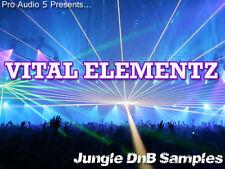Vital Elementz  - Drum n Bass - Breaks Loops Synths Basses FX - Sample CD