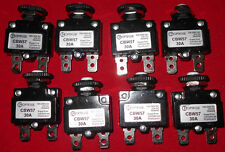 50 PCS NEW, CBW57-30A OPTIFUSE THERMAL CIRCUIT BREAKER,PUSH TO RESET,BRAND NEW