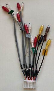 Pioneer AVIC-F950BT  AVIC-F50 Adapter  LineOut/Video/Audio/Kamera 32 PIN CDP1540