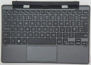 Dell Venue 10 Pro 5000 5055 UK Keyboard K15A N9M53 T0NXG 580-ADBQ