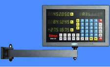 DRO Display 3-axis USA -2yr warranty programmable work with most DRO