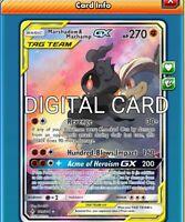 Marshadow /& Machamp GX FA Pokémon TCG Online PTCGO ONLINE CARD SENT FAST!