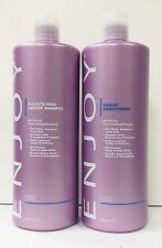 Enjoy Luxury Sulfate Free Shampoo Conditioner 33.8 oz SET New Bottle DUO SPECIAL