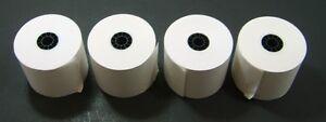 Cash Register Receipt Paper Adding Machine Tape 2 1/4 Wide X 2 5/8 Diameter X 4