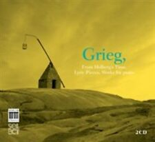 GRIEG: FROM HOLBERG'S TIME; LYRIC PIECES; WORKS FOR PIANO USED - VERY GOOD CD