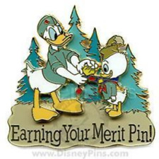 Disney Pin 53132 PTN Trading Night Earning Your Merit Scout Uniform Donald *