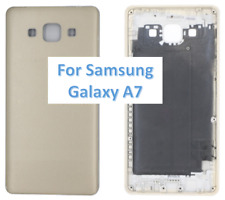 Replacement Plastic Back Door Battery Cover for Samsung Galaxy A7 A700F Gold