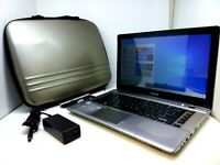 Toshiba Satellite P845T-S4305 Intel i3-3217U 1.8GHz - 8GB DVDRW 128GB SSD + Case