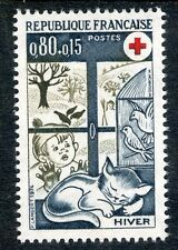 STAMP / TIMBRE FRANCE NEUF LUXE N° 1829 ** CROIX ROUGE L'HIVER