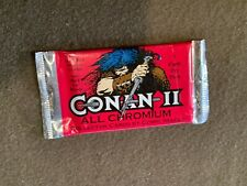 Conan II All Chromium 7 Card Pack Comic Images NEW MIP